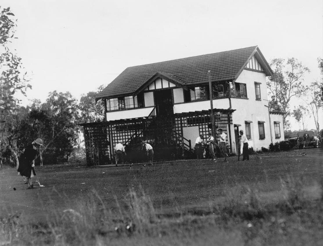Old Photo of Clubhouse