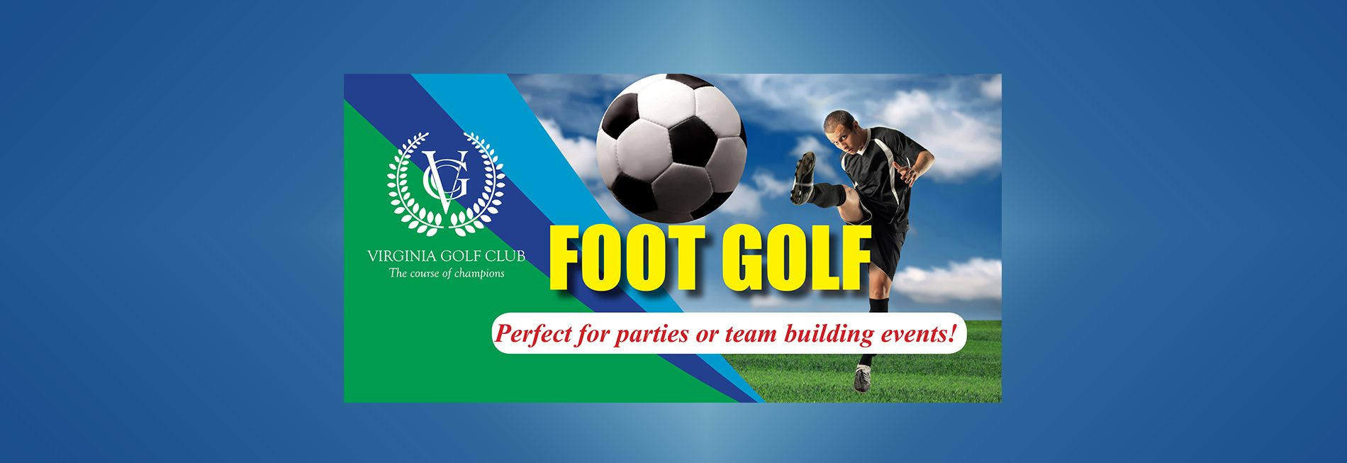 Footgolf slider parties team building