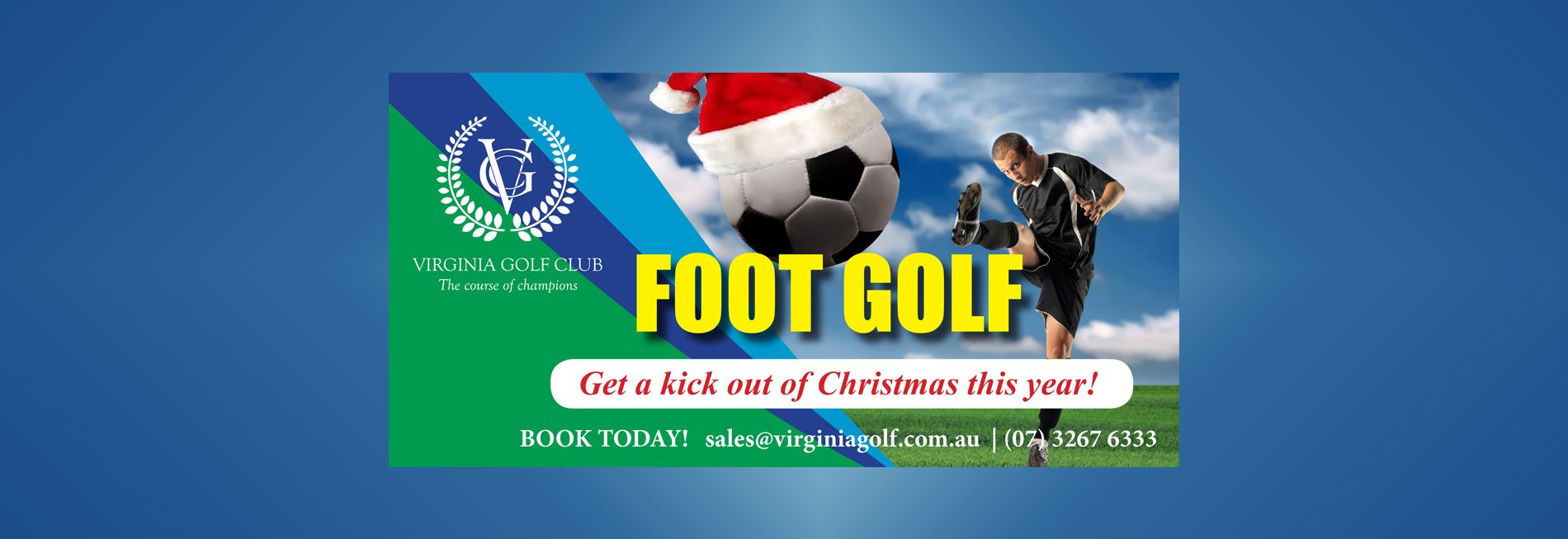 Footgolf slider Christmas