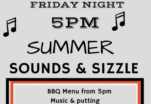 Summer Sounds & Sizzle- Friday Night BBQ