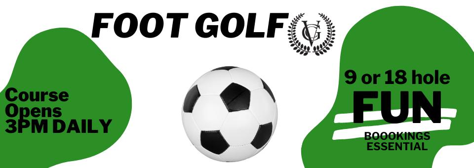 facebook cover foot golf