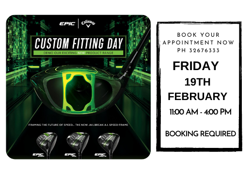 Callaway & Srixon Demo Day -19th FEB