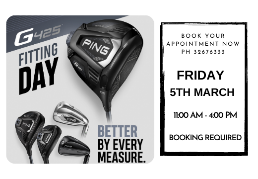 PING, Taylor Made & Mizuno Demo Day - 5TH March