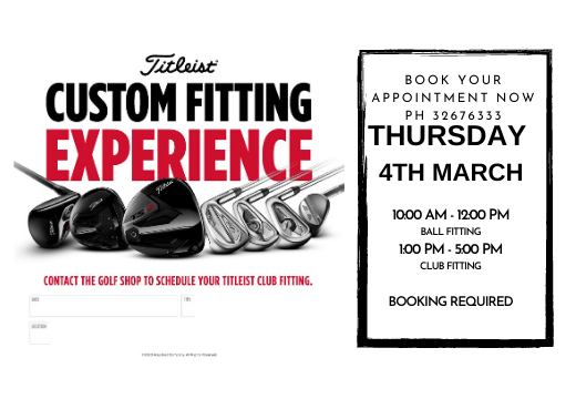 Titleist Ball Fitting & Demo Day
