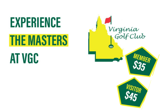 Experience the MASTERS' at VGC