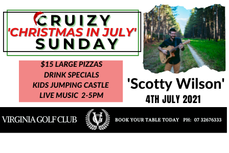Cruizy 'Christmas in July' Sunday - With Scotty Wilson